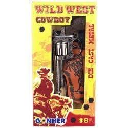 Gonher Wild West 8 Ring Shot Cap Gun with Holster Box