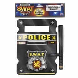 HTI Swat Shield Baton Set